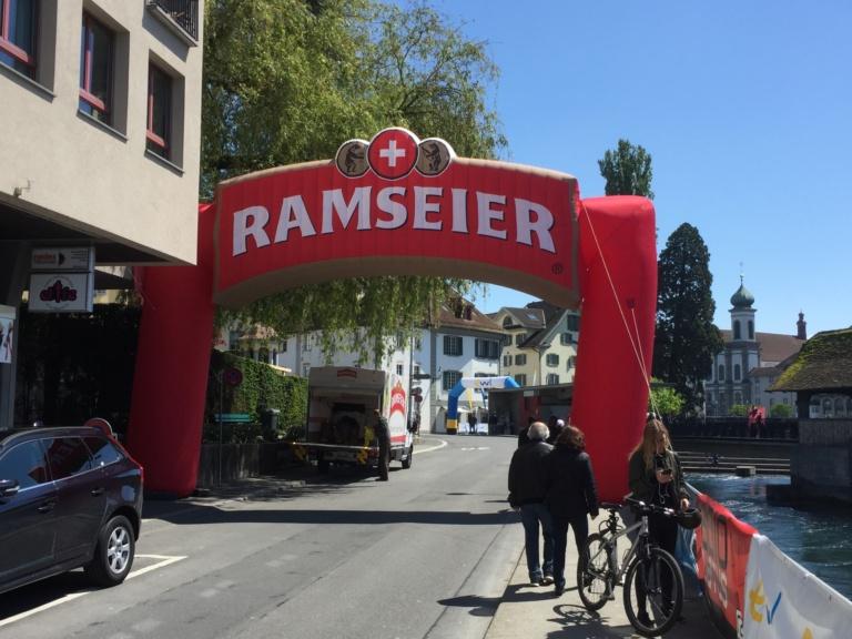 RAMSEIER à la course de Lucerne 2021